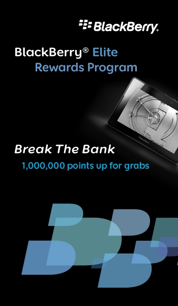 BreakTheBank Image Earn Points and Break the Bank with BlackBerry Elite Awards Program